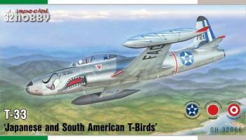 T-33 'Japan and South American T-Birds' 1/32 - Special Hobby