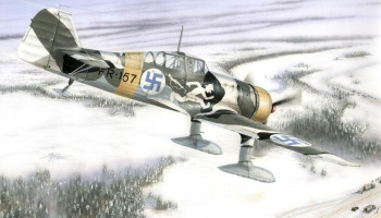 1/48 Fokker D.XXI 4.Sarja with Wasp Junior Engine