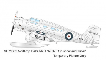 1/72 Canadian Vickers Delta Mk.II RCAF 'On snow and water'