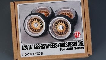 BBS-RS Wheels & Tires For Jdm Series 18´- Hobby Design