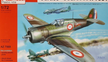 1/72 Curtiss H-75C-1 French Aces