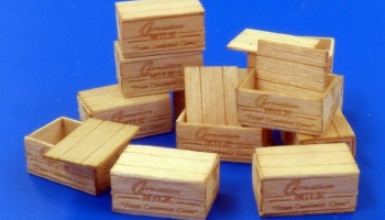 1/35 U.S:Wooden crates for condensed milk