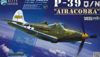 P-39Q/N Airacobra 1/32 - Kitty Hawk