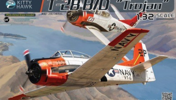 T-28B/D Trojan 1/32 - Kitty Hawk