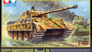 German Tank Panther Ausf. D 1/48 - Tamiya