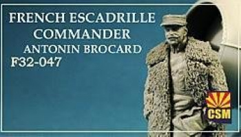 1/32 French Escadriller commander Antonin Brocard