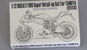 Ducati 1199  Super Detail-up Set - Hobby Design