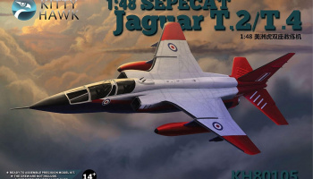 SEPECAT Jaguar T.2/T.4 (1:48) - Kitty Hawk
