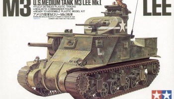 M3 Lee Mk I US medium tank 1/35 - Tamiya