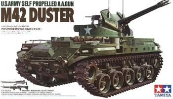 M42 DUSTER Self Propelled Anti-Aircraft-Gun  1/35 - Tamiya