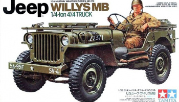 Jeep Willys MB 1/4-ton 4x4 truck 1/35 - Tamiya