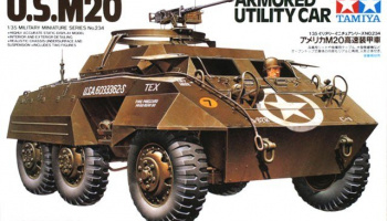 U.S.M20 Armored Utility Car 1/35 - Tamiya