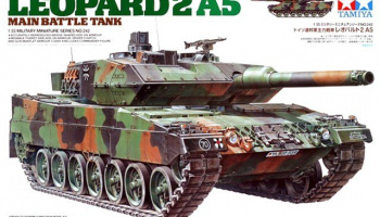 Leopard 2 A5 Main Battle Tank (1:35) - Tamiya