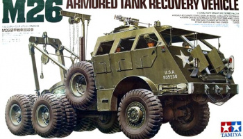 M26 Armored Tank Recovery Vehicle 1:35 - Tamiya