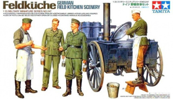 German Field Kitchen Scenery (1:35) - Tamiya