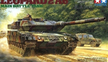Leopard 2 A6 Main Battle Tank (1:35) - Tamiya