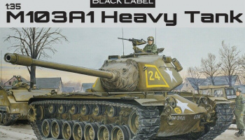 M103A1 Heavy Tank Black Label 1:35 - Dragon