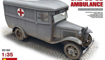 1/35 GAZ-03-30 Ambulance