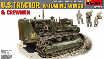 1/35 U.S.Tractor w/Towing Winch & Crewmen.Special Edition