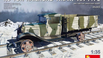 1/35 1,5 Ton Railroad Truck AA Type