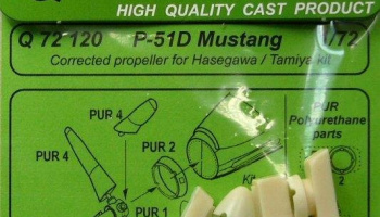 1/72 P-51D Mustang corrected propeller for HAS/TAM