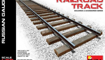 1/35 Railroad Track (Russian Gauge)