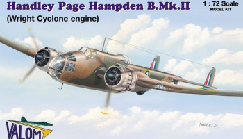 1/72 Handley Page Hampden B.Mk.II (W.Cyclone)