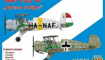 "1/72 Bücker 133 C ""Green Stripe"""