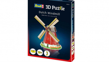 3D Puzzle REVELL 00110 - Dutch Windmill