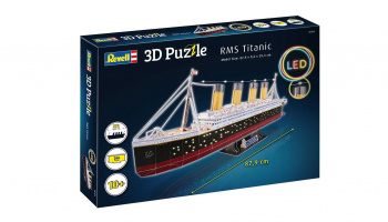 3D Puzzle REVELL 00154 - RMS Titanic (LED Edition) - Revell