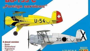 "1/72 Bücker 133 C ""Foreign services"""