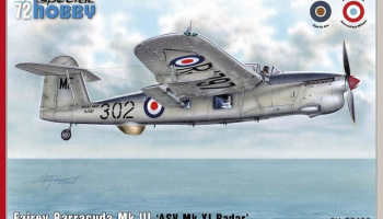 1/72 Fairey Barracuda Mk.III 'ASW Mk.XI Radar'