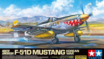 F-51D Mustang Korean War 1/32 - Tamiya