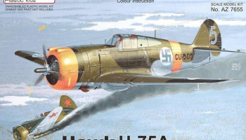 "1/72 Curtiss Hawk H-75A ""Nordic Hunter"""