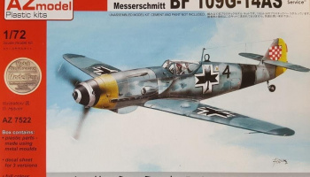 "1/72 Messerschmitt Bf 109G-14AS ""In Foreign Service"""