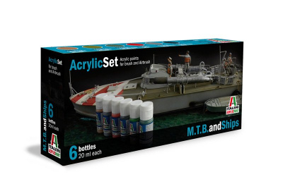 434AP - M.T.B. and SHIPS 6 ks - Italeri