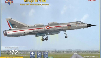 1/72 Mirage III V-02 fastest VTOL ever