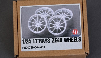 1/24 17 RAYS ZE40 WHEELS - Hobby Design