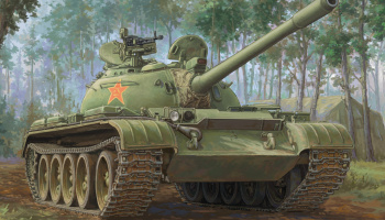 PLA 59-1 Medium Tank1:35 - Hobby Boss