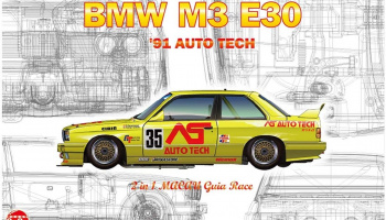 BMW M3 E30 Group A 1991 Auto Tech - NuNu Models