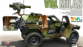 French Army 1987-Present VBL Milan Milan Anti-Tank Missile Launcher 1/35 - Tiger Model