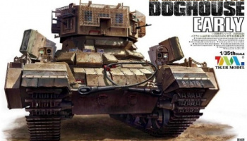 IDF Nagmachon Heavy APC Doghouse Early 1/35 - Tiger Model