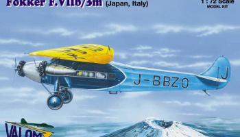 1/72 Fokker F.VIIb/3m (Japan and Italy marking)