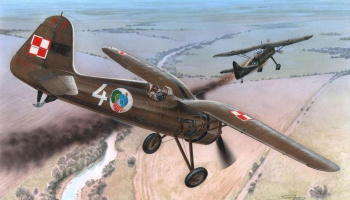 1/72 PZL P.11c First Shots