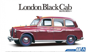 FX-4 London Black Cab '68 1/24 - Aoshima