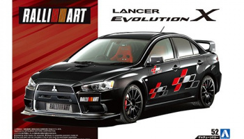 RALLIART CZ4A LANCER EVOLUTION X '07 (MITSUBISHI) 1/24 - Aoshima