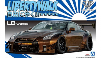 LB★WORKS R35 GT-R type 2 Ver.1 - Aoshima