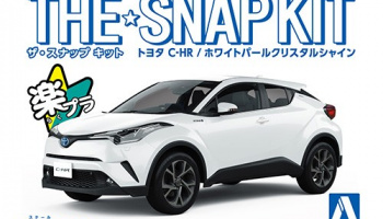 The Snap Kit Toyota C-HR 1/32 - Aoshima