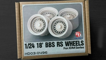 1/24 18' BBS RS Wheels - Hobby Design