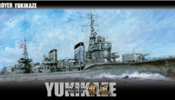 Japanese Navy Kagero Destroyer Yukikaze 1:350 - Fujimi